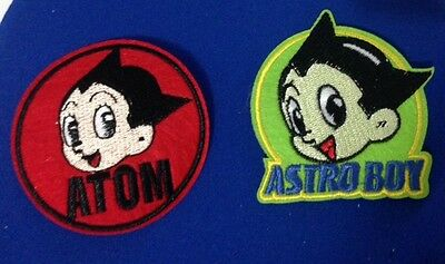 ASTRO BOY IRON ON PATCH APPLIQUE 80'S CARTOON SUPERHERO.TV SPACE DIY COSTUME