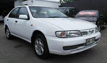 1995 Nissan Pulsar SLX White 4 Speed Sedan Pooraka Salisbury Area Preview
