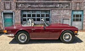 COLLECTABLE CLASSIC CARS - 1970 TRIUMPH TR6 ( AUTOMATIC) Strathalbyn Alexandrina Area Preview