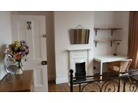 Lovely & bright double room to rent in period property. Available Feb-July.