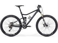 Merida 720 XT edition mountain bike.