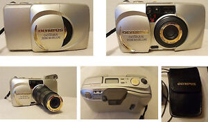 Olympus Stylus 140 Zoom Deluxe 35mm film camera. Good condition.