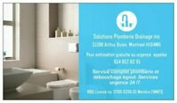 Solutions plomberie drainage inc. plombier service d'urgence