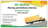 """Mr Shifter"" Moving and Delivery"