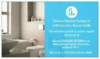 Solutions plomberie drainage inc. -plombier d'urgence 24/7