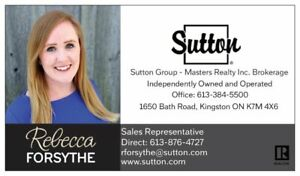 Looking to Buy or Sell in the Kingston Area?