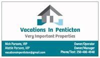 Vacations in Penticton - A Property Management Service