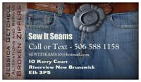 Sewing Alterations in Riverview, NB.
