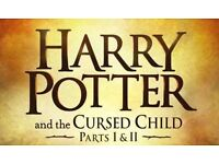 Harry Potter and the Cursed Child part1&2 tickets x2 stalls row J