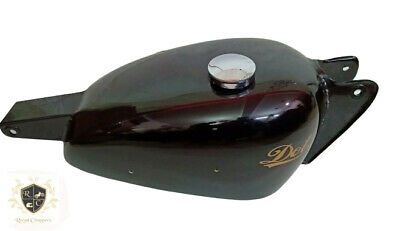 Dot Trials Black Painted Gas Fuel Petrol Tank 1953 With Best Quality |Fit (Best Paint For Steel)