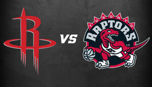 2-4 Houston Rockets v Toronto Raptors - March 5 - Upper + Lower