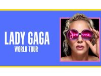 2x Lady GaGa Tickets at Rescheduled Genting Arena, Birmingham - 1st February 2018