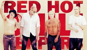 Red Hot Chilli Peppers (2tickets)