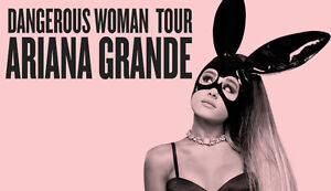 ARIANA GRANDE FLOOR TICKET - BELL CENTER MARCH 6TH