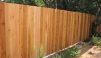 Looking for someone to build a fence