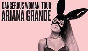 Ariana Grande - Dangerous Woman Tour 4 x General Admin Standing Endeavour Hills Casey Area Preview