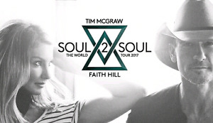 2 Tickets to Tim McGraw & Faith Hill