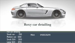 Roxy full car detailing for only 90$ Roxburgh Park Hume Area Preview