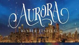 SELLING Aurora Lights General Ticket SAT DEC 15 - 8 pm - 10 pm