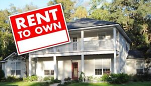 Rent to own program!
