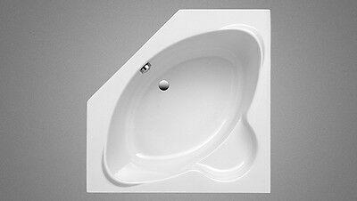 Ottofond Badfaszination, Eck-Badewanne Miami 125 x 125 x 42,5 cm weiß Acryl ()