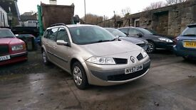 2007 Renault Megane Tourer VVT Expression, 1.6 Petrol, 5 Door Estate