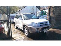 2005 Hyundai Santa Fe CDX CRTD, 2.0 Diesel, 4x4, 89,000 Miles