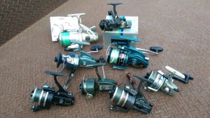 Old fishing reels as a lot Morwell Latrobe Valley Preview