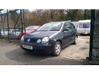 2005 Volkswagen Polo Twist, 1.2 Petrol, 3 Door Hatchback, 81,000 Miles