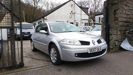 2007 Renault Megane Dynamique VVT, 1.6 Petrol, 5 Door Hatchback, 81,000 Miles