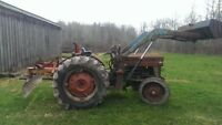 Massey Ferguson 135 Tractor with loader.