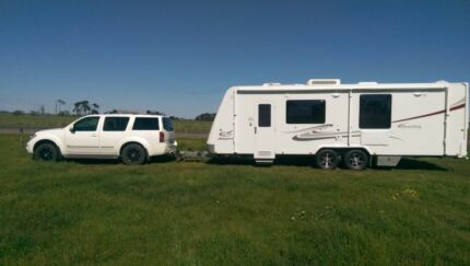 Ti 550 v6 deisel 7 spd auto / Jayco sterling 25.7 twin slide out Mount Gambier Grant Area Preview