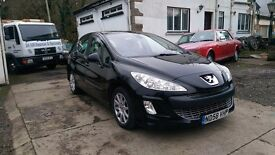 2008 Peugeot 308 SE HDI, 1.6 Diesel, 6 Speed Manual, 5 Door Hatchback