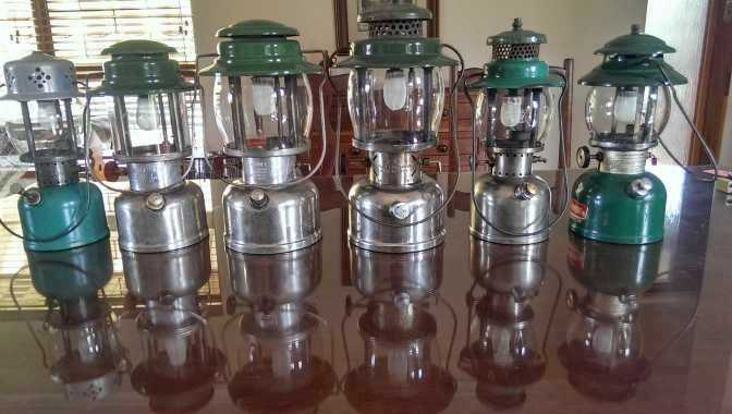Coleman and other Paraffin Pressure Lamp Servicing & Repairs