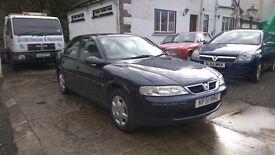 2001 Vauxhall Vectra LS, 2.2 Petrol, 5 Door Hatchback, 95,000 Miles