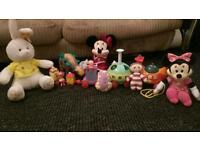 ninky nonk and assorted baby toys