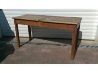 Antique Childs Double School Desk Antique Oak Desk Kids Antique Oak Desk