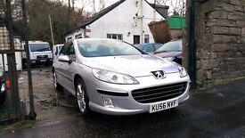 2006 Peugeot 407 HDI SE, 4 Door Saloon, 2.0 Diesel, 87,000 Miles