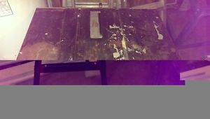 Older Table/bench saw forsale Gatineau Ottawa / Gatineau Area image 1