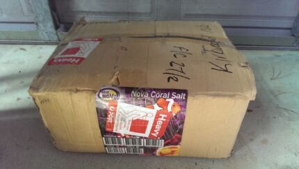 AQUARIUM SALT...20KG..BRAND NEW UNOPENED BOX...PICKUP OR CAN POST Hazelbrook Blue Mountains Preview