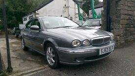 2004 Jaguar X-Type V6 SE, Automatic, 4 Door Saloon, 83,000 Miles
