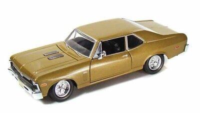Maisto 1/24 Scale Diecast Metal 1970 Chevy Nova SS