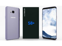 Samsung Galaxy S8 plus Factory unlocked sealed unopen box brand new phone