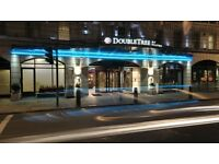 Hilton West End Hotel New Year's eve stay for 2 adults + firework tickets Central London