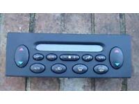 Mg rover 75 heater control