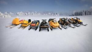 BUYING ALL BLOWN WRECKED SEIZED SITTING SNOWMOBILES