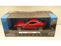 1/18 scale diecast model cars Audi Ferrari BMW Mercedes