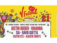 V festival ticket 2016 FOR SALE