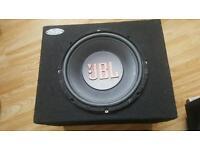 2 X JBL SUBS 1 X FLY AMP 1 X JBL AMP