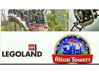 Summer holidays days out theme park tickets cheap legoland safari park kids fun